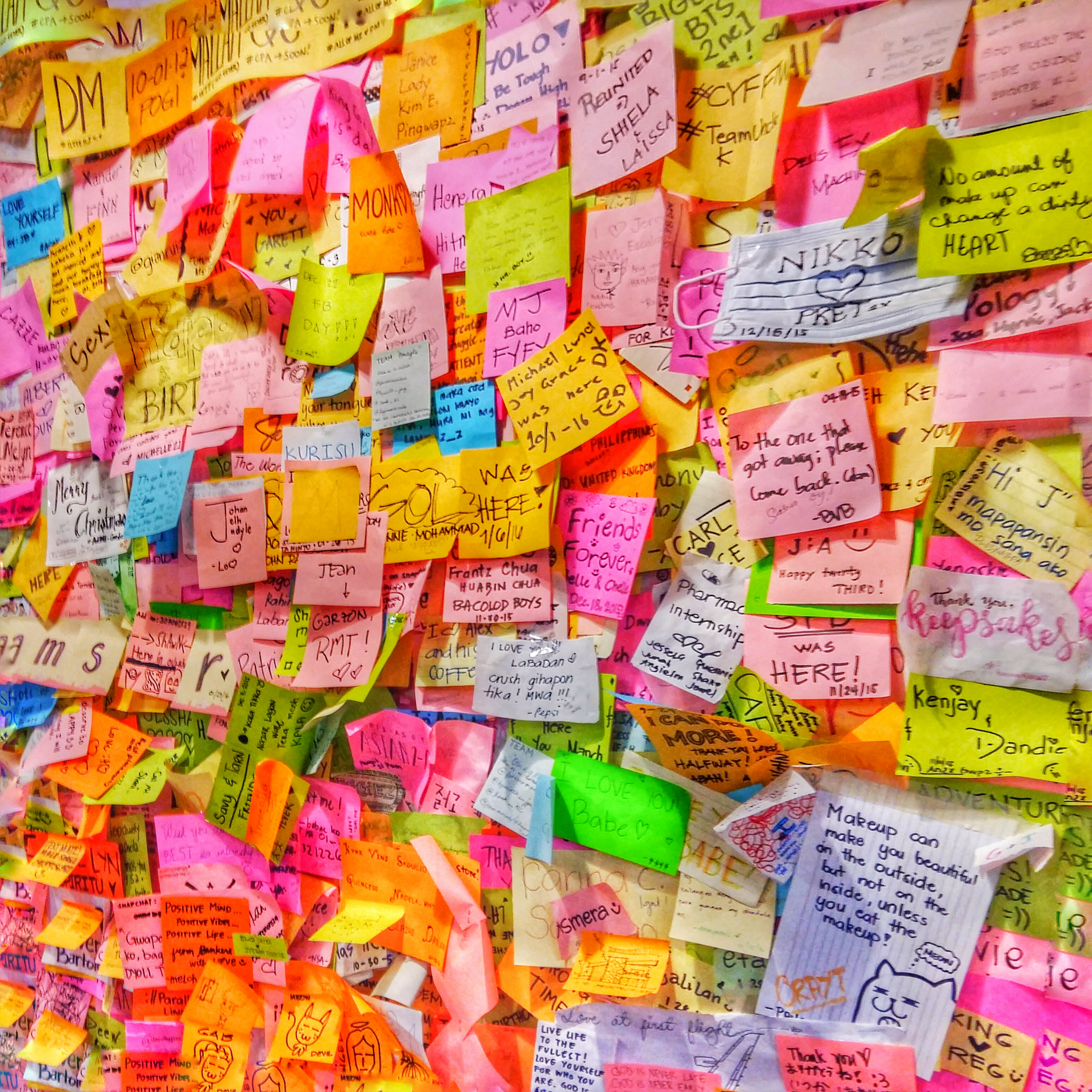 Post-It Notes at Keepsakes