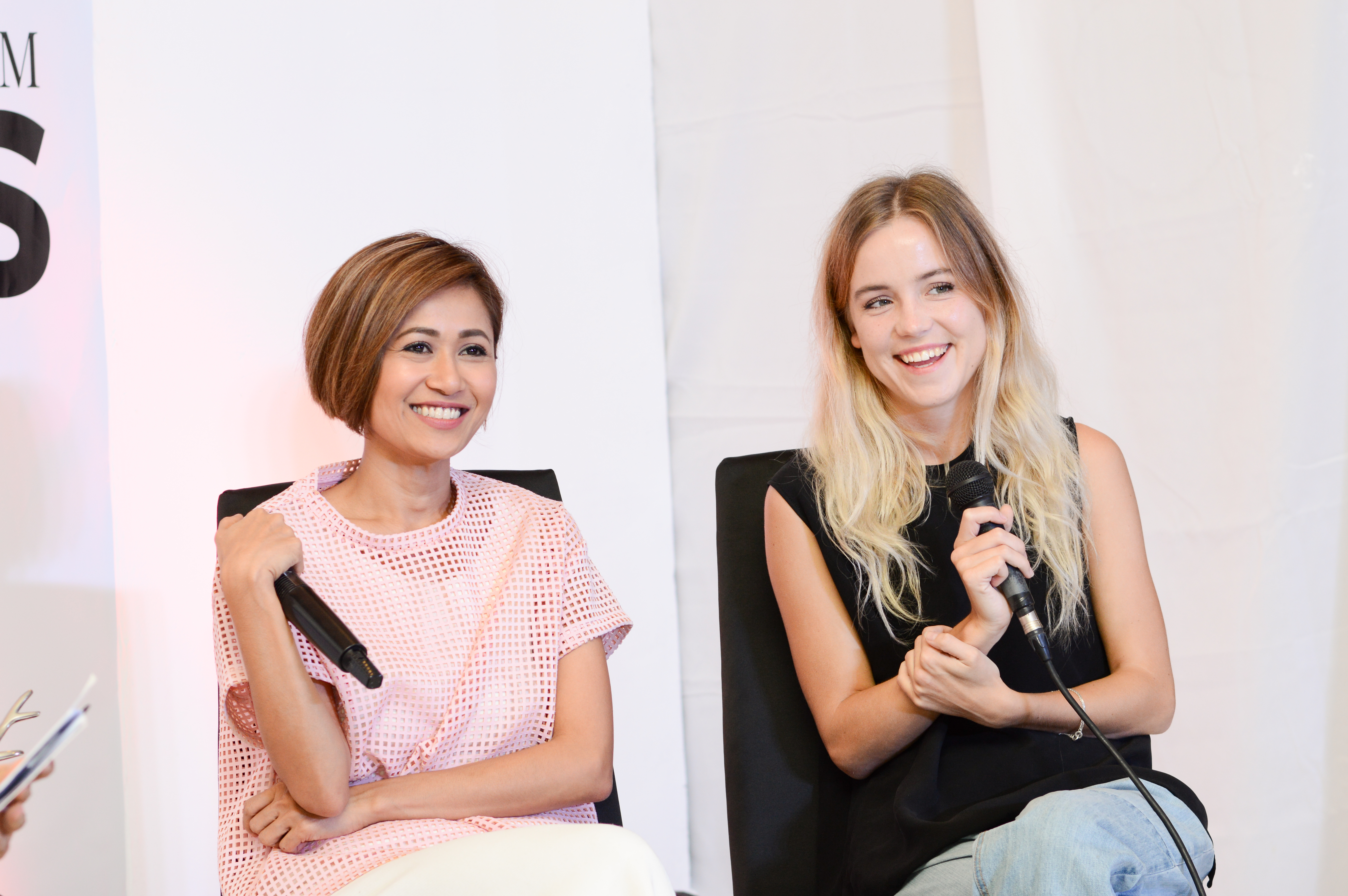 Pam Quiñones and Philippa Andrén discuss trends, Scandinavian style, and their careers in the fashion industry